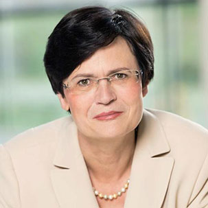 Christine Lieberknecht Ministerpräsidentin des Freistaates Thüringen a.D. (Foto: basis-online.net)