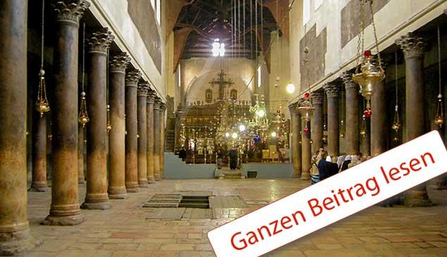 Geburtskirche in Betlehem