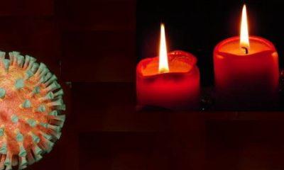 Coronavirus und Kerzen