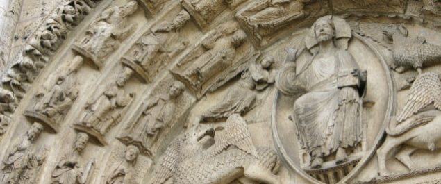 Westprotal Chartres Christus