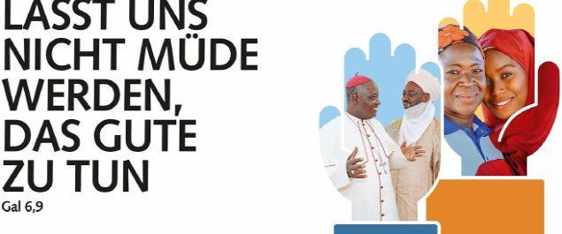 (Foto: Werbung für Missio-Sonntag – Website: missio-hilft)